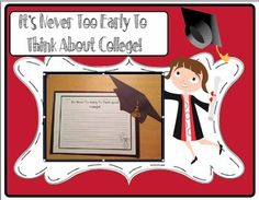 Not only will this impress your students' parents but it gets your students thinking about college and how beneficial it is for them. My kids loved...