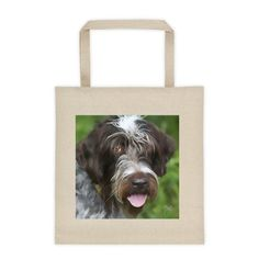 GYPSY tote. Gorgeous Wirehaired Griffon tote from boesarts.com