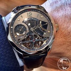 Beauty on the wrist - Greubel Forsey