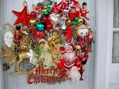 Vintage Christmas Decorations | Zion Home Design