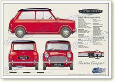 Morris Mini-Cooper 1962-64 997cc  I want one so Bad!!!!!