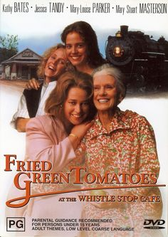 Fried Green Tomatoes by Jon Avnet (1991). A housewife who is unhappy with her life befriends an old lady in a nursing home and is enthralled by the tales she tells of people she used to know.