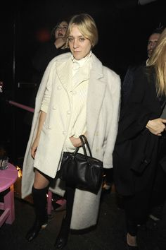 Chloë Sevigny at the Rodarte after party during NYFW February 2013.