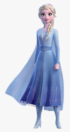 #frozen #frozen2 #elsa #anna #olaf #sven #lareinedesneiges - Elsa Frozen 2 Png, Transparent Png , Transparent Png Image - PNGitem