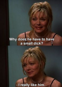Samantha was relatable, and she gave us some great moments over the course of the 6 seasons that Sex and the City aired.