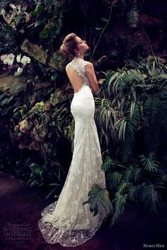 nurit hen 2013 wedding dress keyhole back