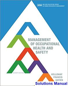 Solution manual for cornerstones of managerial accounting 6th management of occupational health and safety canadian 7th edition kelloway solutions manual test bank fandeluxe Images