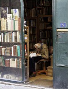 Book seller ...