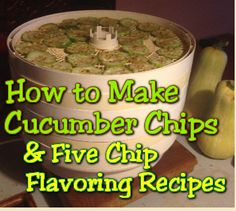 The Latest on Homemade by Jade: How to Make Cucumber Chips and 5 Chip Flavoring Recipes  http://www.homemade-by-jade.com/blog/how-to-make-cucumber-chips-five-chip-flavoring-recipes