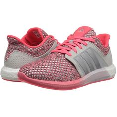 adidas Running Solar Boost Women's Running Shoes featuring polyvore, women's fashion, shoes, athletic shoes, flexible shoes, fleece-lined shoes, woven shoes, breathable shoes and athletic running shoes