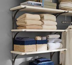 New York Closet Triple Shelves | Pottery Barn