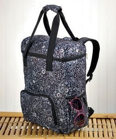 Paisley Oversized Insulated Cooler Backpacks