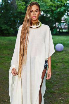 Why We Need Hair Discrimination Laws, beyonce braids box braids lemonade hair ideas. Beyonce Lemonade Braids, Beyonce Braids, Black Girl Braids, Girls Braids, Box Braids, Side Braids, Braids Ideas, Black Girls Hairstyles, Braided Hairstyles