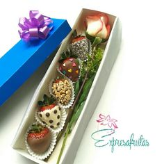 Decorated strawberries Expresafrutas