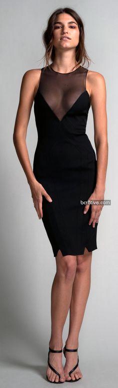 Hakaan Spring Summer 2012 - Nadra Dress - Sleeveless Racer Back Cocktail Dress