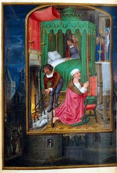 MatrizNet Medieval Furniture, Book Of Hours, Medieval Art, Illuminated Manuscript, 16th Century, Religion, Portuguese, Painting, Age