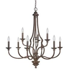 Southwark 9-Light Candle-Style Chandelier