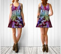 """Flare+dress+""""Clematis+Flare+Dress""""+by+Julia+Donaldson"""