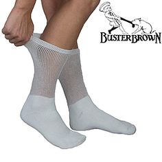 Non-binding socks fit comfortably without slipping or bunching!  Smooth, flat toe seam resists irritating sensitive feet while mesh upper top provides for maximum breathability, moisture and odor control.