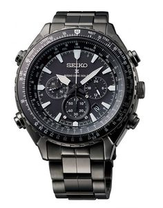 Seiko Prospex Radio Sync Solar World Time Chrono - SSG003