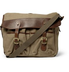 J.Crew Beaumont Waxed Canvas Messenger Bag 1 580x605