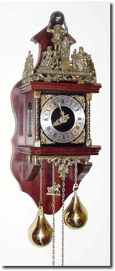 German Antique Clocks | Antique German or Germany Wall WagOnWall Clock