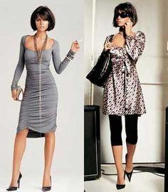 hot hot grey dress
