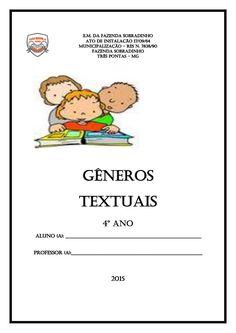 Apostila gêneros textuais  4º ano by Roseanne Funchal Olivieira via slideshare