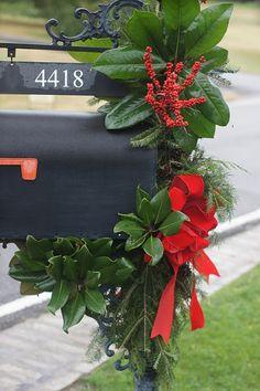 classic Christmas mailbox decoration photo | Christmas | Pinterest ...