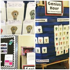 """In this post, Stephanie (Teaching in Room 6) shares her learning from doing """"Genius Hour"""" in 5th grade. She also links to Jen's post on Runde's Room that got her started. Be sure to visit that post too, and watch the videos there!"""
