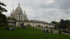 Lounging at the Basilique du Sacre Coeur #montmarte #paris #france #travel