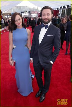 Alexis Bledel Supports Hubby Vincent Kartheiser at SAG Awards 2016!: Photo #3564975. Alexis Bledel holds hands with her husband Vincent Kartheiser while walking the red carpet at the 2016 Screen Actors Guild Awards held at the Shrine Auditorium on…
