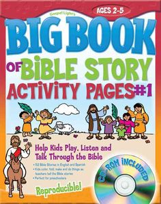 The Big Book of Bible Story Activity Pages 1: Help Kids Play, Listen and Talk Through the Bible