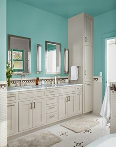 Cabinet Door Styles with Laundry Cabinetry Dark Room Mosaic Tile Supreme