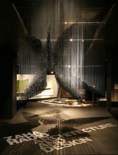 Zaha Hadid Exhibit