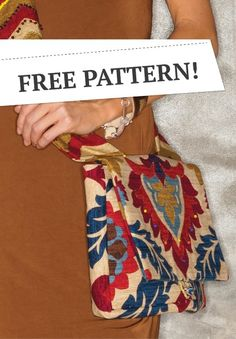 Over One Shoulder Bag, FREE PATTERN! | DIY purse pattern