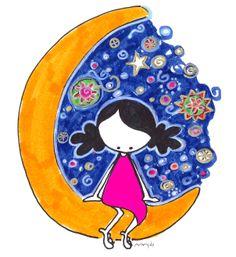 MIry en la luna
