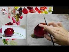Beginners Acrylic Still Life Painting Techniques demo - Part 4 of 4 - YouTube