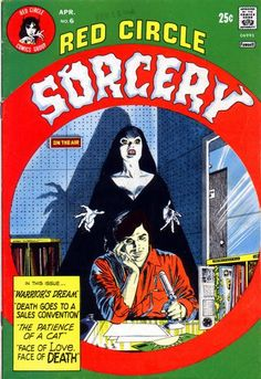 Cover for Red Circle Sorcery (1974 series) #6 Gray Morrow cover art