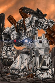 Metroplex by 1314 on DeviantArt I saw this posted and repinned from zel nevette but he apparently saved it to his computer and didn't feel the need to give the artist credit for it, but I did,