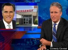 Daily Show.  Romney take on health care