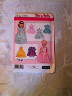 American Girl Doll Clothes-Simplicity Pattern 3547 by gofancynancy