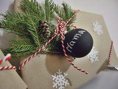 Prezenty, pakowanie Presents wrapping ideas for christmas. Christmas gift