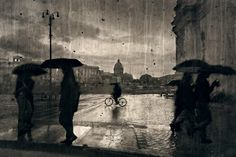 Irma Haselberger. Rain in the city