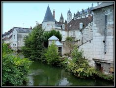 CHATEAU DE LOCHES de Christian Villain