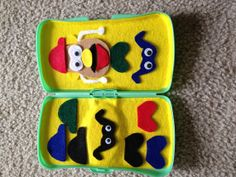 I have many of these and usually recycle them. Mr. Potato Head felt game by BoDashes on Etsy, $5.00