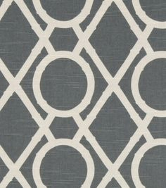 Upholstery Fabric-Robert Allen Lattice Bamboo Greystone | Quality home decor fabric at Joann.com or Jo-Ann Fabric Stores