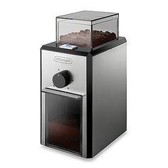 DeLonghi KG89 Stainless Steel Burr Coffee Grinder