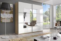 Před koupí nové šatní skříně se ujistěte, zda se vejde tam, kde ji chcete mít Armoire, Remo, Wardrobes, Grey And White, Bathroom Medicine Cabinet, Bedroom, Furniture, Home Decor, Products