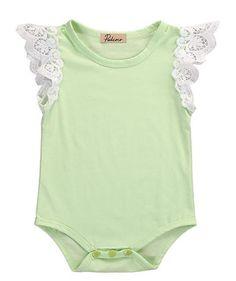Lace Baby Girl Bodysuit